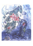 Violinist Art by Marc Chagall