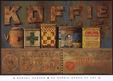 Koffie Poster by Jeanne Hughes