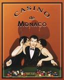 Casino de Monaco Kunst af Poto Leifi