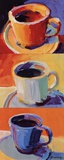 Three Cups o' Joe I Posters by Robert Burridge