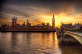 London- Big Ben & Parliament Billeder