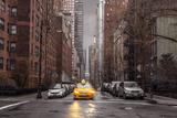 Assaf Frank- New York Taxi Poster af Assaf Frank