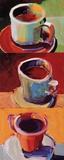 Tres tazas de Joe II Láminas por Robert Burridge