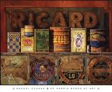 Ricard Prints by Jeanne Hughes