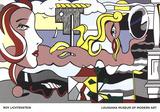 Figures in Landscape Kunst van Roy Lichtenstein
