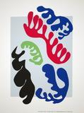 Le Lagon Silketrykk av Henri Matisse