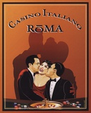 Casino Italiano Posters by Poto Leifi