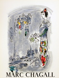 The Magician of Paris Prints by Marc Chagall
