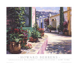 Andalusian Walkway Prints by Howard Behrens