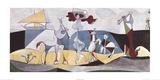 La Danza Arte por Pablo Picasso