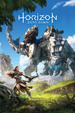 Horizon Zero Dawn- Key Art Stampa
