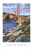 Golden Gate Prints by Howard Behrens
