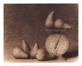 Pears with Scale Print by Doug Van De Zande