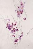 Delicate Blossoms I Impressões metálicas por Rikki Drotar