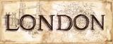 London Poster by Ann Brodhead