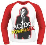 Long Sleeve: AC/DC- Powerage Shockage (Raglan) Vêtement