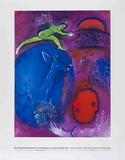 The Dream of Lamon and Dryas Plakat av Marc Chagall