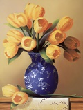 Yellow Tulips Prints by Fairfield Porter