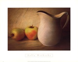 APPLES AND PITCHER Print by Sally Wetherby