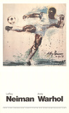 Pele Prints by LeRoy Neiman