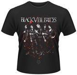 Black Veil Brides- Red Maelstrom T-shirts