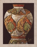 Birch Leaf Pottery Prints by Charles Thompson