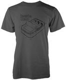 Beastie Boys- Hello Nasty Diagram T-Shirts