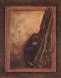 Orangutan II Art by Patricia Quintero