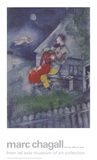 The Lovers Poster by Marc Chagall