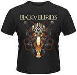 Black Veil Brides- Ornament And Crime T-shirts