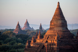 The Terraces of Several Buddhist Temples in Bagan Photographic Print by Cory Richards