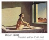 Soleil matinal Affiches par Edward Hopper