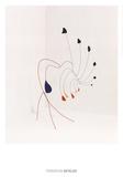 La demoiselle Affiches par Alexander Calder