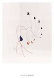 La demoiselle Prints by Alexander Calder