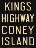 Kings Hwy/Coney Island Prints by Winter Works