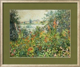 Flowering Meadow, Vetheuil, 1880 Framed Giclee Print by Claude Monet