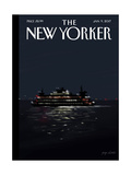 The New Yorker Cover - January 9, 2017 Regular Giclee Print by Jorge Colombo