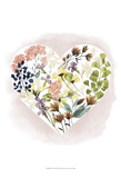 Love Floral I Prints by Grace Popp
