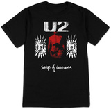 U2- Songs Of Innocence Red Shade T-Shirts