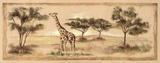 Safari Giraffe Prints by Ann Brodhead