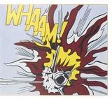 Whaam B Plakater av Roy Lichtenstein