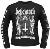 Long Sleeve: Behemoth- The Satanist Crest Magliette
