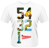 Thunderbirds- 5-4-3-2-1 Countdown T-shirts