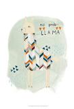 Llama Squad I Plakater af June Erica Vess