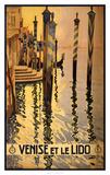See Venise et le Lido Print by  Studio W