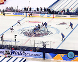 2017 NHL Winter Classic Opening Face-Off Photo