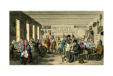 Proteus Taking a Benefit According to the Law-Scene: Whitecross Street Prison Giclee Print by Theodore Lane