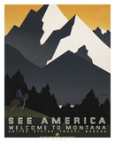 See America VI Print by  Studio W
