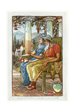 Philemon and Baucis Giclee Print by Walter Crane
