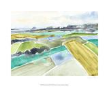 Watercolor Field I Limited Edition by Jennifer Goldberger